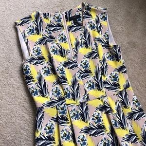 NWOT JCREW Silk Patterned Dress